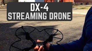 Sharper Image Streaming Drone DX-4