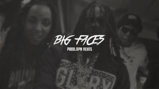 """CHIEF KEEF X SD X CAPO X GLO GANG TYPE BEAT """"BIG FACES"""""""