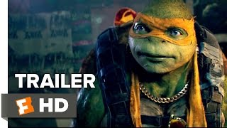 Teenage Mutant Ninja Turtles: Out of the Shadows TRAILER 1 (2016) - Alan Ritchson  Action Movie HD