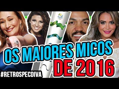 watch OS MAIORES MICOS DE 2016 | RETROSPECDIVA | Diva Depressão