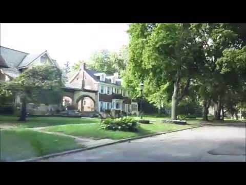 DETROIT'S INDIAN VILLAGE NEIGHBORHOOD (WITH SHORT NARRATION)
