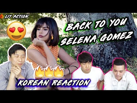 ENG🔥[LIT Action] Selena Gomez - Back To You (Korean Reaction)(Asian Reaction)