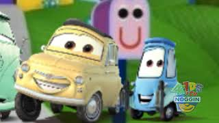 Helen's Clues: Mater and Lightning helps Jimbo finding Clues part 2 (New episode on Noggin 4Kids TV)
