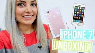 ROSE GOLD IPHONE 7 UNBOXING & REVIEW!