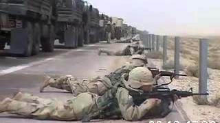 Iraq War 2003, Military Convoy