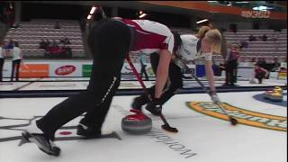 Womens Curling Hot ASSorted Highlights 04/28/2017 JILL PREVIEW Clip