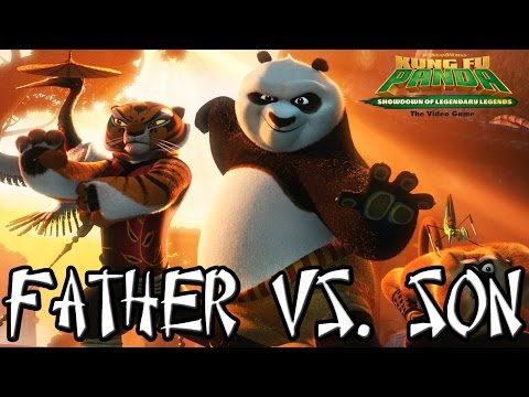 Kung Fu Panda - Father Vs. Son Vs. CPU Vs. CPU [Showdown of Legendary Legends]