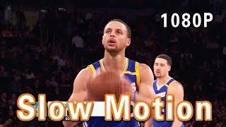 Stephen Curry Shooting Form in Slow Motion 2017 NBA Playoffs 1080P