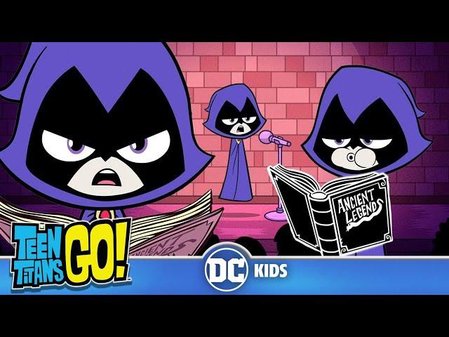 Teen Titans Go! | Raven Knows Everything! | DC Kids