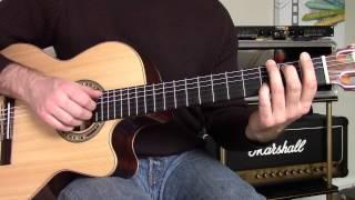 Cours de guitare - Anastasia intro acoustique (Slash)