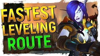 The BEST Leveling Path in World of Warcraft...With SCIENCE! + Revelation About Kalimdor!