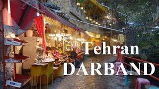 Tehran (Beautiful relaxing north Tehran) Darband Part 12