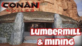 Conan Exiles: Lumbermill and Mining Mod