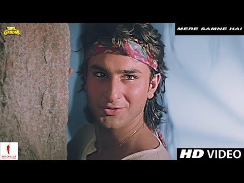 Xxx Mp4 Mere Samne Hai Yaar Gaddar Full Song HD Saif Ali Khan Somy Ali 3gp Sex
