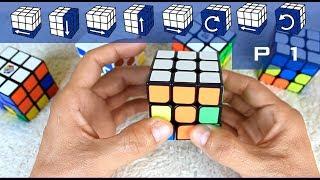 Como armar un cubo Rubik 3x3   PRINCIPIANTES   Parte 1 de 3
