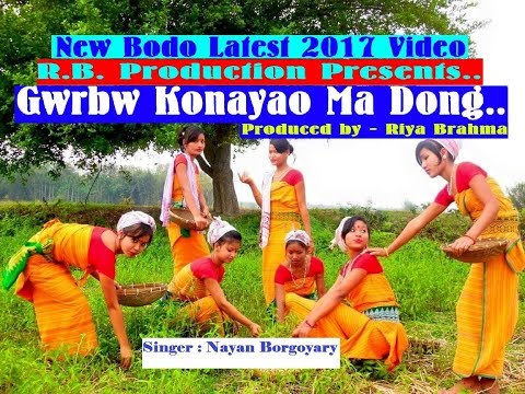 New Bodo Song - Gwrbw Konayao Ma Dong - by Nayan Borgoyary 🎶🎵