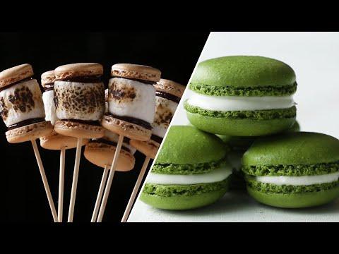 Xxx Mp4 How To Make Macaron Recipes To Become A Macaron Master • Tasty 3gp Sex