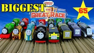 NEW BIGGEST THOMAS AND FRIENDS THE GREAT RACE #65 TrackMaster Thomas the Tank Engine Toy Trains