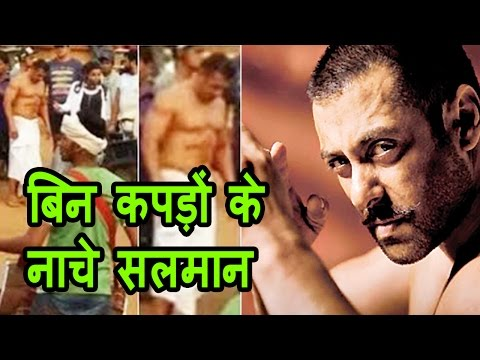 Salman Khan's nude photos leaked online on the sets of 'Sultan'?