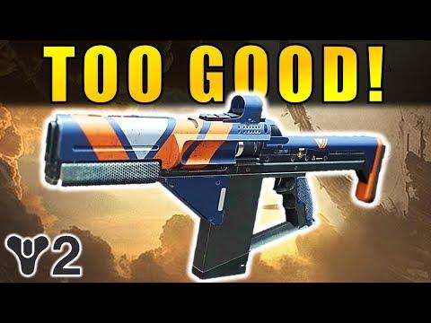 Destiny 2 Beta TOO GOOD Main Ingredient Fusion Rifle