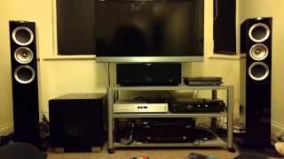 Kef r500s, Audiolab CD 8200, Chord 2qute DAC, Arcam a29