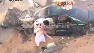 حادث تفحيط كامري 2013