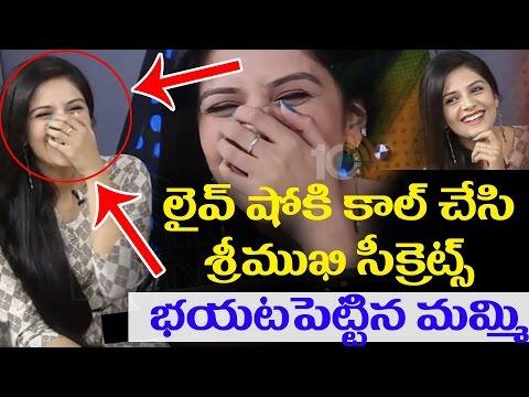 Anchor Srimukhi's Mother Reveals Srimukhi Secrets In Live Show | Srimukhi Exclusive Interview | 10TV