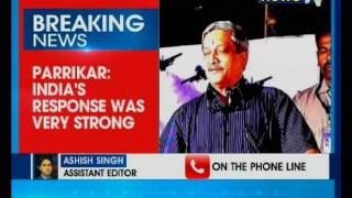 Strong response forced Pakistan to beg us to stop: Manohar Parrikar