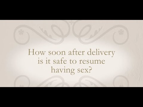 Xxx Mp4 How Soon After Delivery Is It Safe To Resume Having Sex 3gp Sex