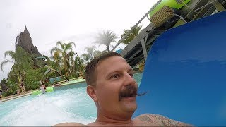 An Updated Look At Volcano Bay Water Park | Rainy Day Fun & Slide POVs!