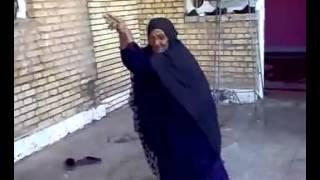 رقص عربی پیرزن