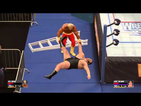 WWE 2K16 episode 16 Hulk Hogan vs. Andre the giant