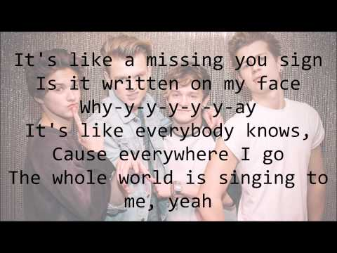 The Vamps Oh Cecilia You re Breaking My Heart with Lyrics