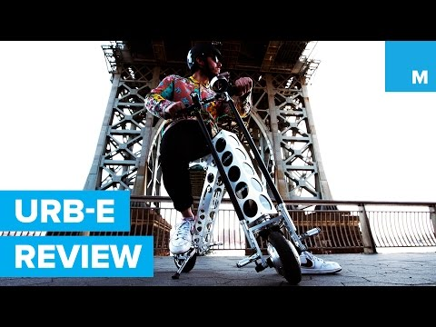 URB-E Electric Scooter Review | Mashable