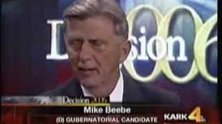 Mike Beebe On Nick Wilson on KARK/Ch. 4