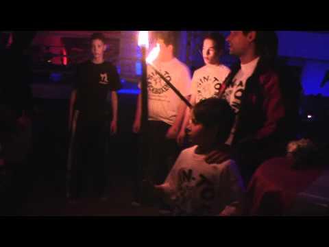 Sin To Kickboxen Max Einlauf