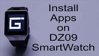 How to Install Apps on DZ09 and GT08 Smartwatch ⌚🎲🎮