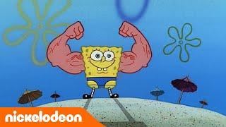 Sponge BobSchwammkopf Goldene Momente | MuskelBob | Nickelodeon Deutschland