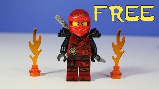 LEGO Ninjago Magazine with FREE Kai and Trading Cards