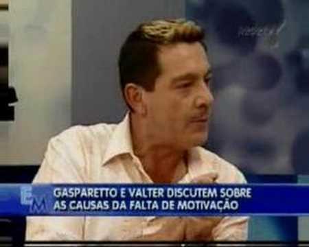 Walter Sandro e Gasparetto no Programa Encontro Marcado