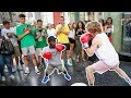 Boxing in Public!