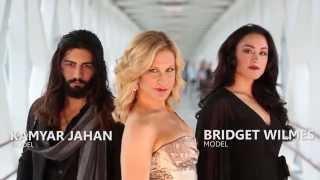FashionNXT video with Broadway & Screen Actress Lisa Datz & Grimm Actor Sasha Roiz