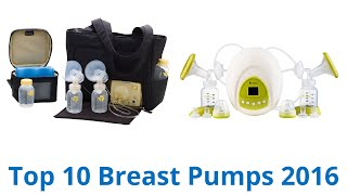 10 Best Breast Pumps 2016