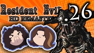 Resident Evil HD: Weird Insect Monster Thing - PART 26 - Game Grumps