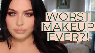 TESTING OUT BHAD BHABIE MAKEUP I COPYCAT BEAUTY REVIEW