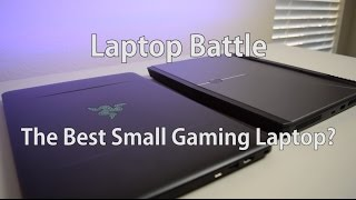 Laptop Battle: Razer Blade (1060) VS Alienware 13 R3 OLED (1060)
