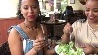 Weekend with friends in Abu Dhabi. Ethiopian restaurant