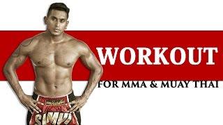 Fat burning workout Muay Thai/MMA