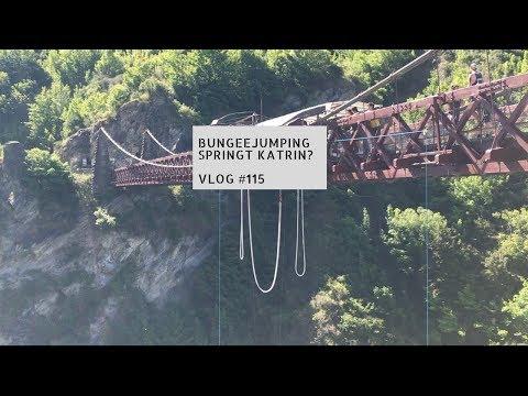 Bungeejumping - springt Katrin? | VLOG #115