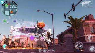 Gangstar Vegas - Pumpkin Head Mixed Invisible Man (Alien Invasion)